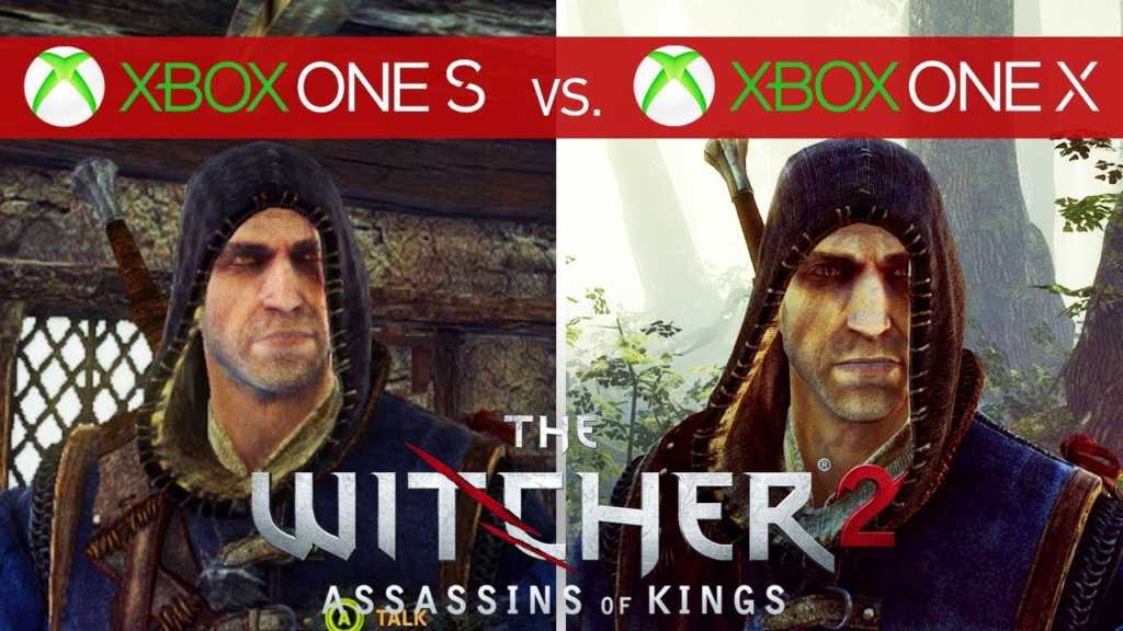 the witcher 2 assassins of kings das xbox one x update. Black Bedroom Furniture Sets. Home Design Ideas