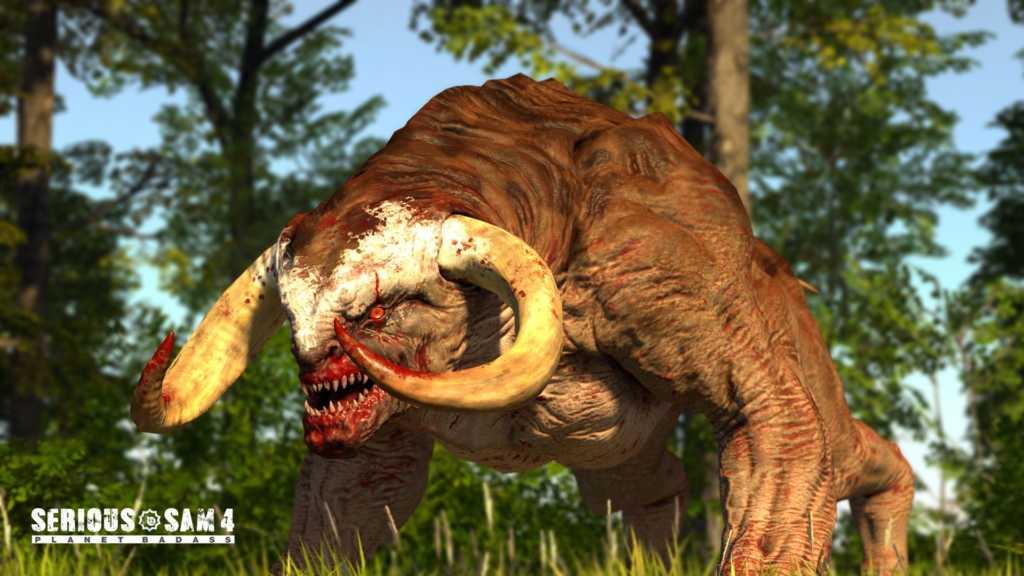 Serious Sam 4: Ein paar offizielle Screenshot aus dem Spiel ...