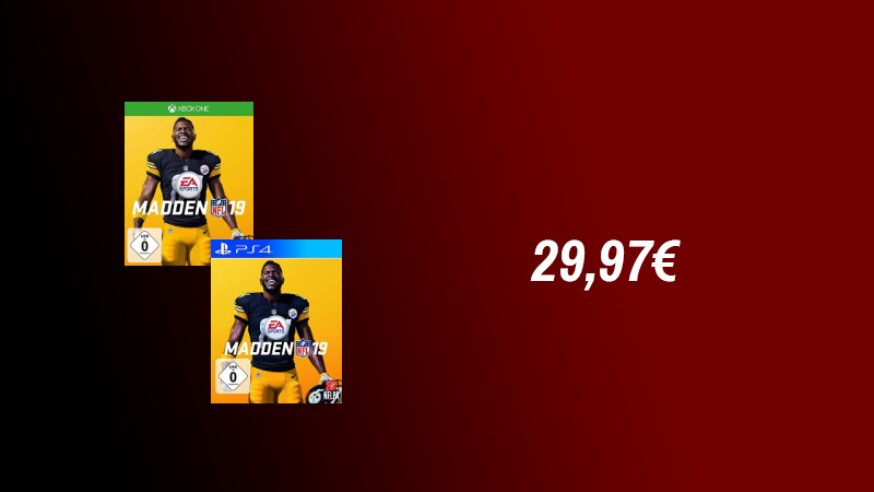 Madden NFL 19 One/PS4 für 29,97€ inkl. Versand  XboxOne.de  täglich Xbox One News und Deals