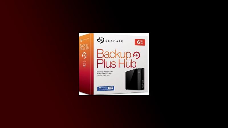 seagate 6tb backup plus hub desk externe festplatte f r. Black Bedroom Furniture Sets. Home Design Ideas